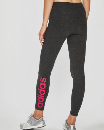 Серые зауженные брюки Adidas Performance