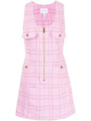 Платье с V-образным вырезом - розовое Alice Mccall