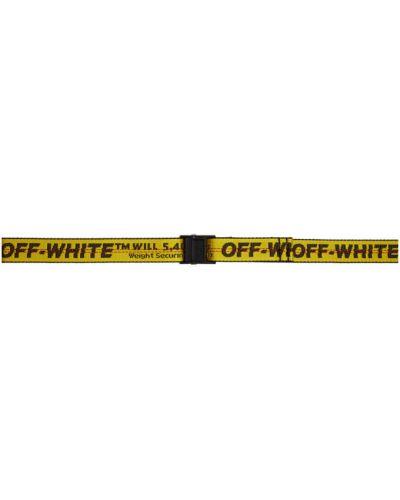 Pasek nylon biały Off-white