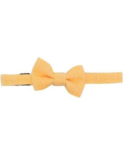 Хлопковый желтый галстук-бабочка с бабочкой Harmont & Blaine Junior