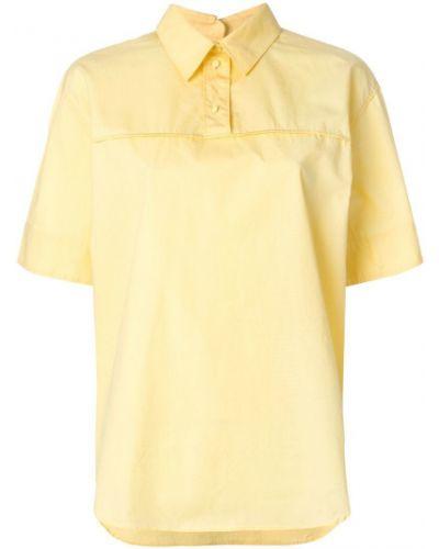 Оранжевая классическая рубашка Cédric Charlier