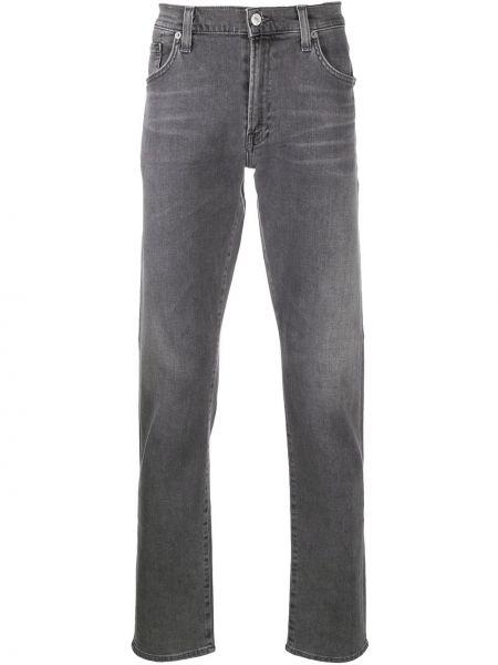 Klasyczne jeansy bawełniane z paskiem Citizens Of Humanity
