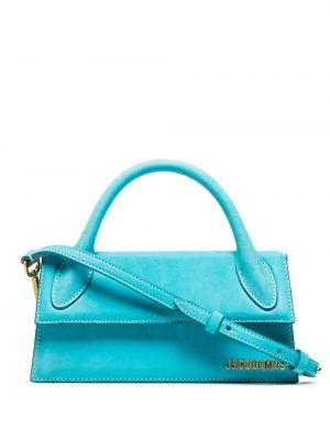 Синяя сумка на плечо Jacquemus