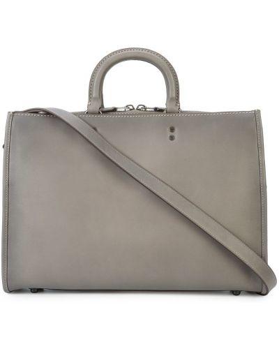 Портфель кожаный через плечо Coach