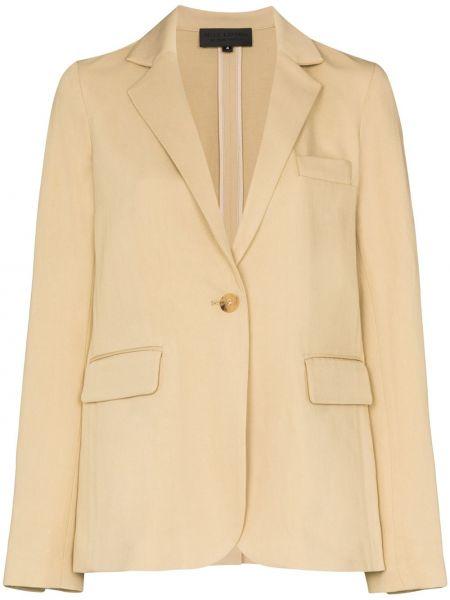 Однобортный пиджак с карманами на пуговицах Nili Lotan