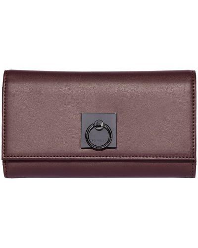 Кожаный кошелек на молнии Fiorelli