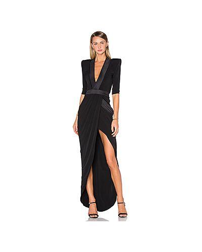 Вечернее платье с драпировкой на молнии Zhivago