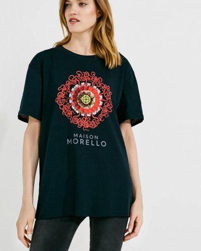 Черная футболка Frankie Morello