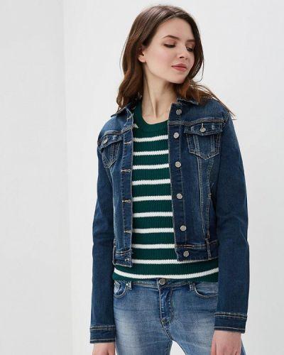Джинсовая куртка весенняя синий So Sweet