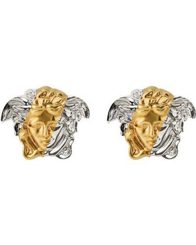Srebrne kolczyki srebrne Versace
