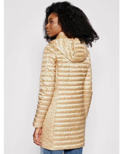Złoty żółty długa kurtka Geox