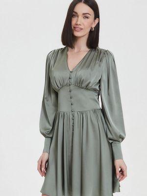 Вечернее платье - зеленое Moru