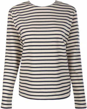 Хлопковый синий свитер A La Russe