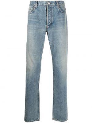 Klasyczne niebieskie jeansy z wysokim stanem Ambush