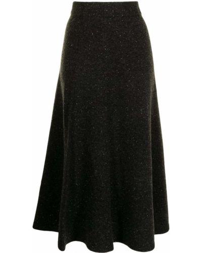 Черная прямая юбка Joseph