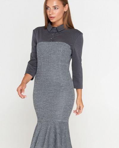 Платье осеннее прямое Sellin