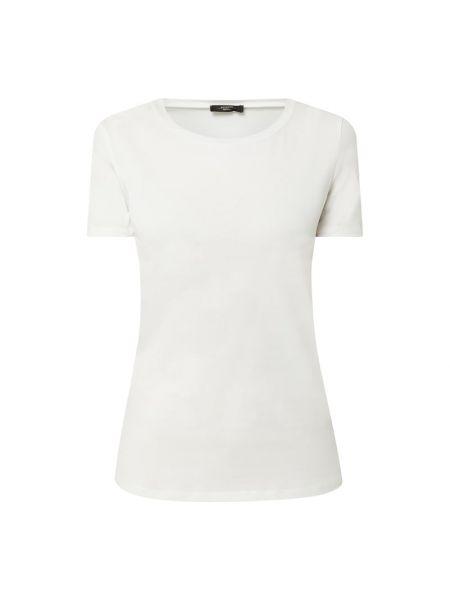 Biały t-shirt bawełniany Weekend Max Mara