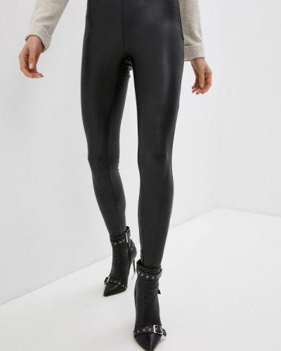 Кожаные черные брюки Zabaione