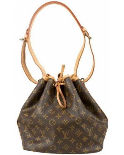 Brązowa torba na ramię vintage Louis Vuitton Vintage