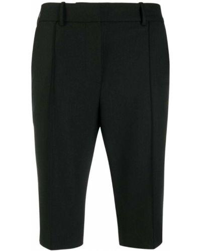 Черные шорты с карманами Rokh