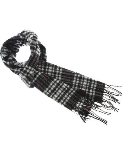 Bawełna bawełna czarny szalik frędzlami Fred Perry