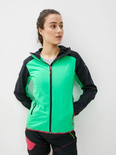 Спортивная куртка весенняя зеленая Icepeak