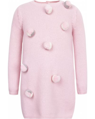 Платье - розовое Il Gufo