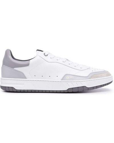 Białe buty sportowe skorzane Dunhill