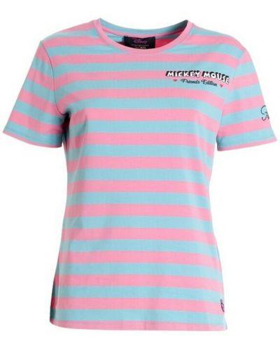 Niebieska t-shirt Fracomina