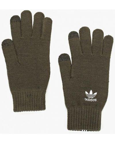 Перчатки 2019 зеленый Adidas Originals