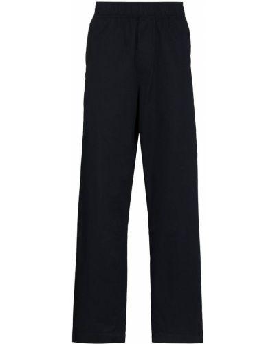 Прямые брюки - синие Wood Wood