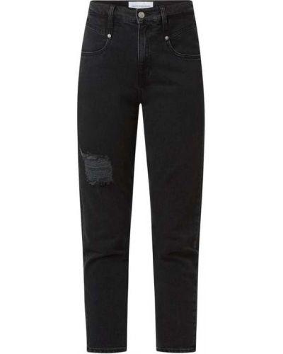 Czarne mom jeans Calvin Klein Jeans