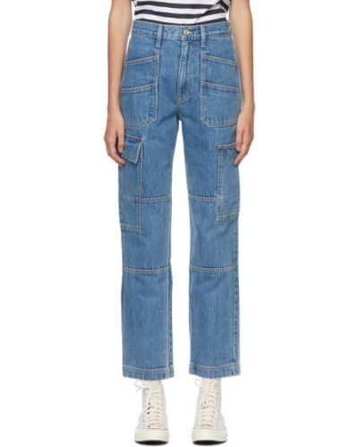 Серебряные джинсы стрейч Slvrlake