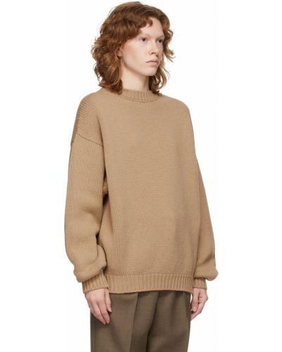 Sweter wełniany - beżowy Fear Of God