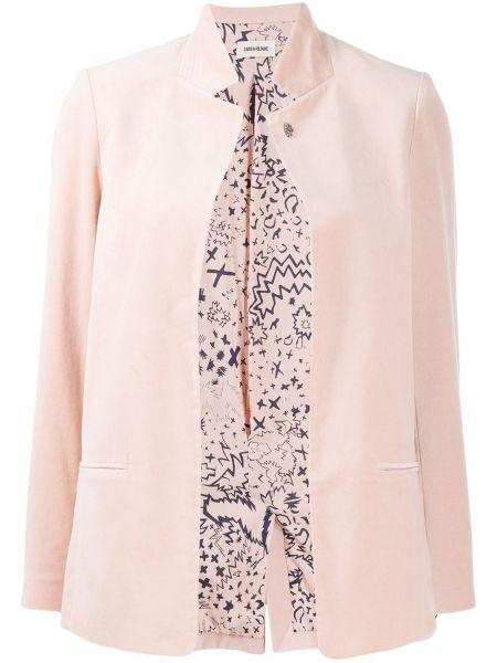 Розовый пиджак Zadig&voltaire