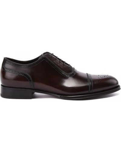 Коричневые кожаные туфли Franceschetti