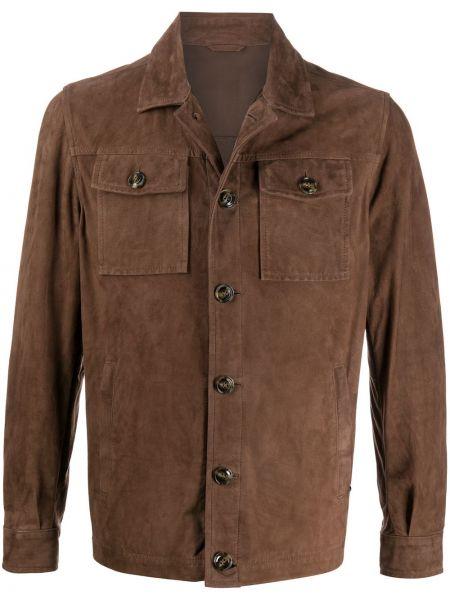 Koszula z długim rękawem klasyczna z kieszeniami Barba