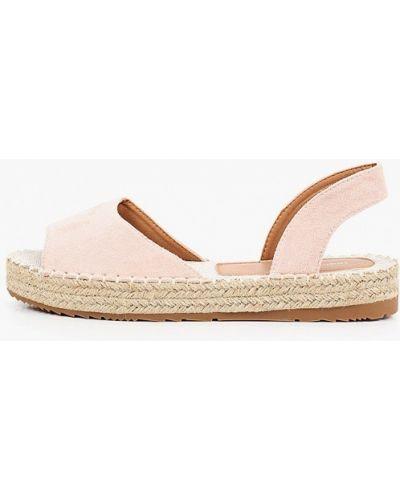 Текстильные розовые эспадрильи Ideal Shoes®