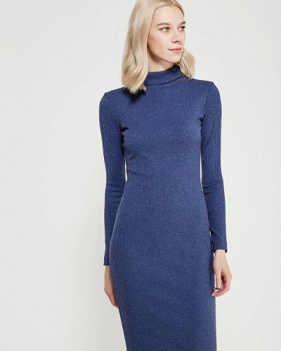Синее платье осеннее A-a By Ksenia Avakyan