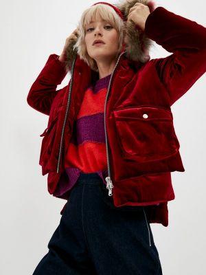 Бордовая демисезонная куртка Canadian