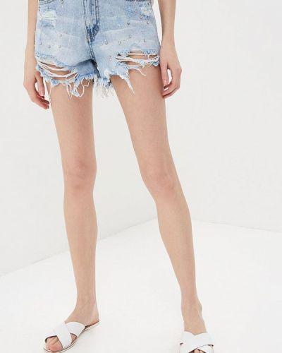 Голубые джинсовые шорты Regular
