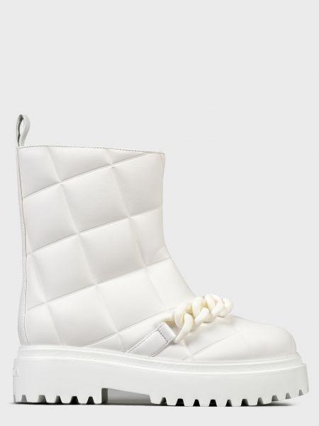 Кожаные полусапожки - белые Le Silla