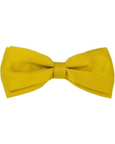 Желтая заколка с бантом Hucklebones London