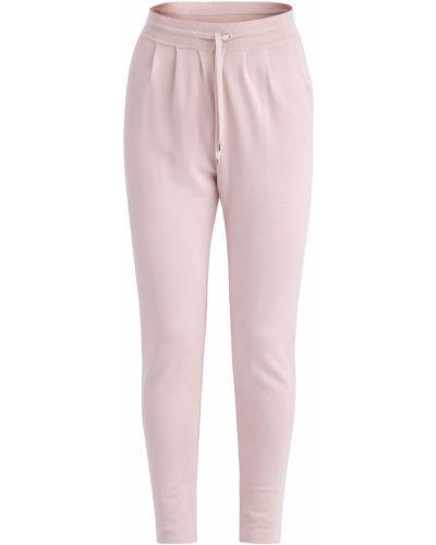 Кашемировые джоггеры - розовые Maison Ullens