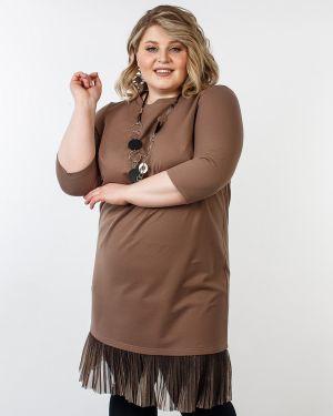 Повседневное платье плиссированное платье-сарафан Jetti-plus
