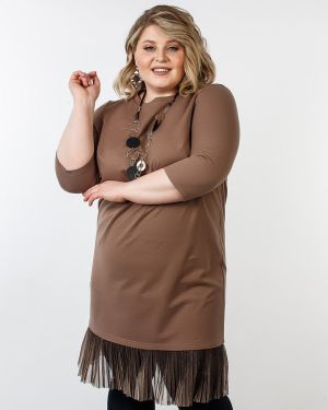 Плиссированное платье Jetti-plus