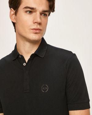 T-shirt skromny długo Armani Exchange