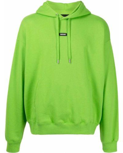Зеленое хлопковое худи Mackage