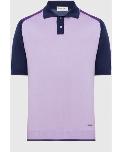 Фиолетовое поло Castello D'oro