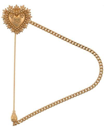 Брошь из золота из серебра Dolce & Gabbana